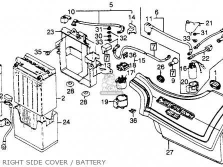 1983 Honda nighthawk 450 parts