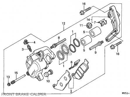 Honda Cb500 1994 Germany / Kph 27p parts list partsmanual
