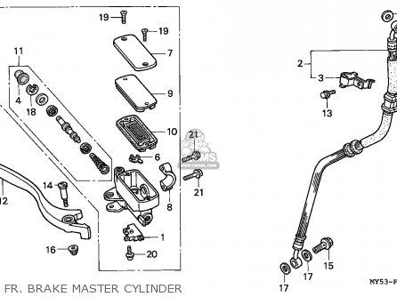 Honda Cb500 1994 (r) Austria / Kph parts list partsmanual