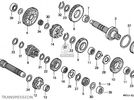 Honda CB500 1994 (R) AUSTRIA / KPH parts lists and schematics