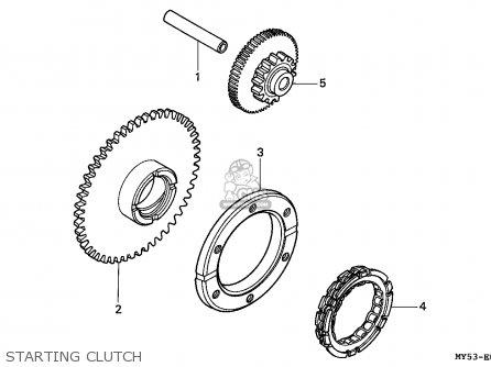 Honda CB500 1994 (R) SPAIN / KPH parts lists and schematics