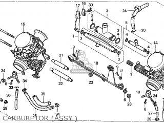 Honda Cb500 1997 France parts list partsmanual partsfiche