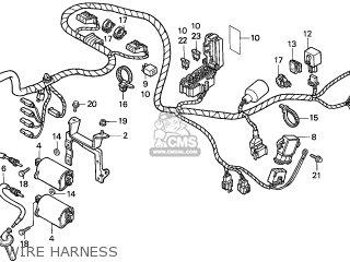 Honda CB500 1997 (V) ENGLAND parts lists and schematics