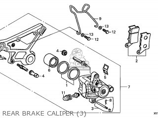 Honda Cb500 1999 (x) France parts list partsmanual partsfiche