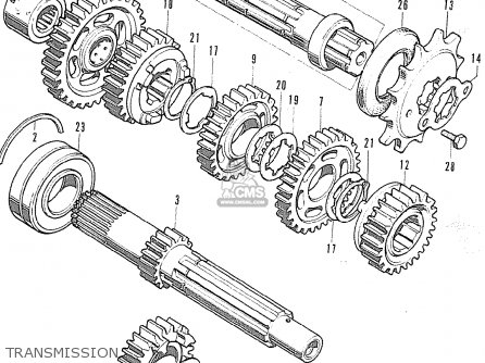 Honda CB500K0 FOUR ENGLAND parts lists and schematics