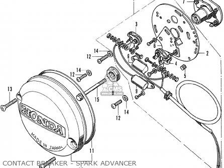 Honda CB500K0 FOUR GENERAL EXPORT parts lists and schematics