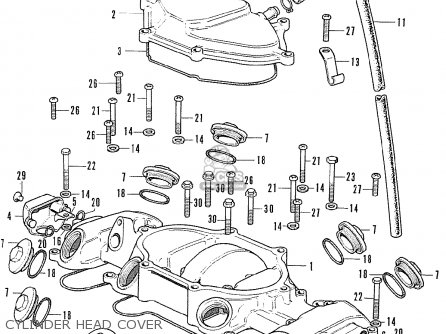 Honda CB500K0 FOUR GENERAL EXPORT parts lists and schematics