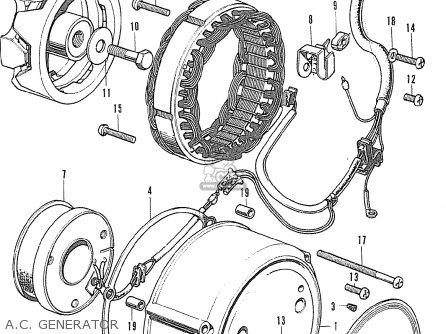 Honda CB500K0 FOUR NETHERLANDS parts lists and schematics