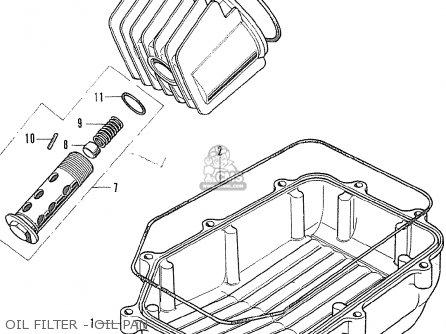 Honda Cb500k1 Four England parts list partsmanual partsfiche