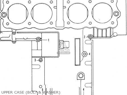Honda CB500K1 FOUR ENGLAND parts lists and schematics