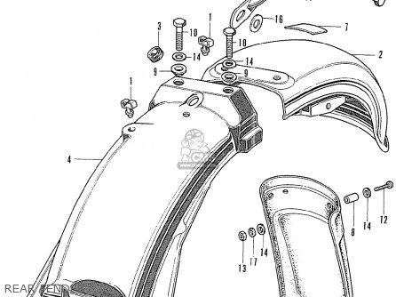Honda CB500K1 FOUR FRANCE parts lists and schematics