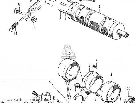 Honda Cb500k1 Four General Export parts list partsmanual