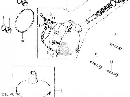 Honda Cb500k2 Four 1973 Usa parts list partsmanual partsfiche