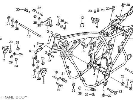 Honda CB500K3 FOUR EUROPEAN DIRECT SALES parts lists and