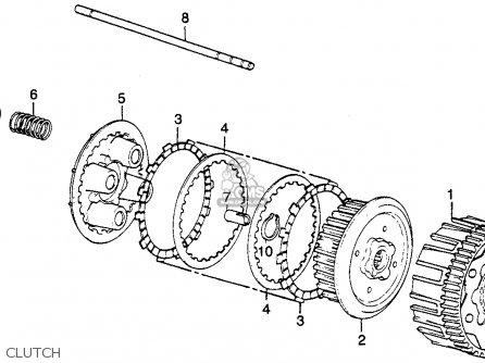 Honda Cb500t Twin Dohc 1976 Usa parts list partsmanual