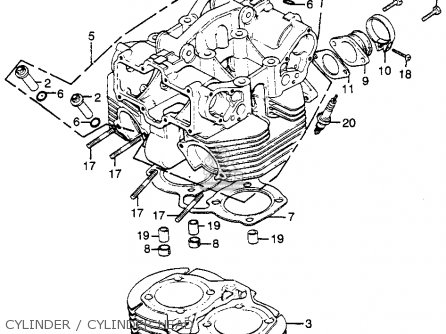 Honda CB500T TWIN DOHC 1976 USA parts lists and schematics