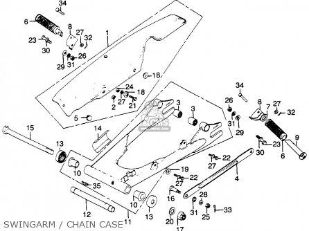 Honda CB500T TWIN DOHC 1976 USA parts lists and schematics