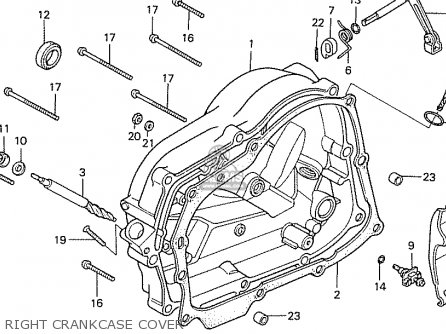 Honda Cb50j Austria parts list partsmanual partsfiche