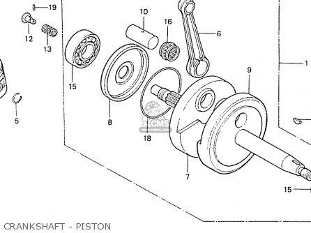 Honda Cb50j England parts list partsmanual partsfiche