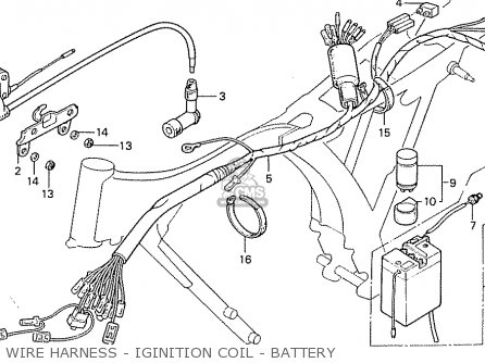 Honda CB50J ENGLAND parts lists and schematics