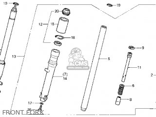Honda CB50R DREAM 2004 (4) parts lists and schematics