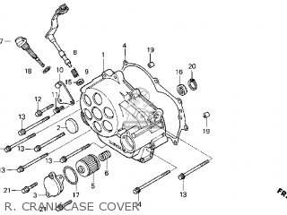 Honda Cb50r Dream 2004 (4) parts list partsmanual partsfiche