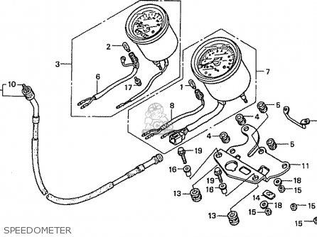 Honda Cb50v Dream Japan (11gcrvj3) parts list partsmanual