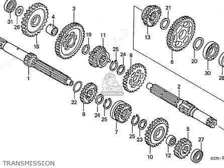 Honda CB50V DREAM JAPAN (11GCRVJ3) parts lists and schematics