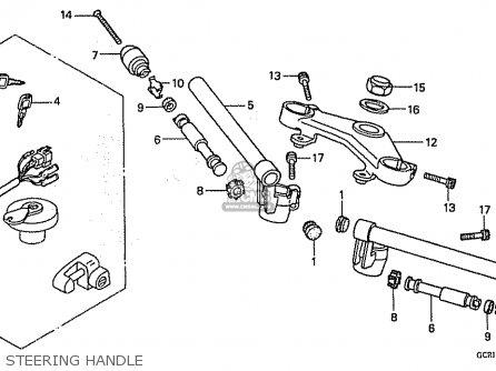 Honda Cb50w Dream 50 parts list partsmanual partsfiche