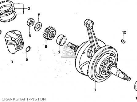 Honda CB50W DREAM JAPAN (11GCRVJ3) parts lists and schematics