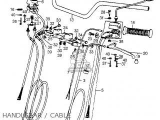 Honda Cb550 Four 1975 Cb550k0 Usa parts list partsmanual