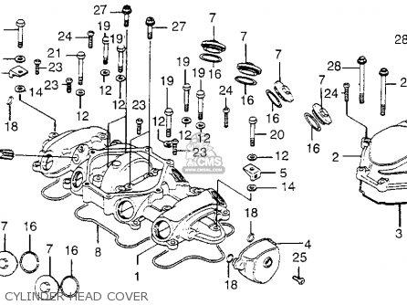 Honda CB550 FOUR CB550K3 1977 USA parts lists and schematics