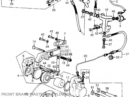 Honda Cb550 K1 Four 1975 Usa parts list partsmanual partsfiche