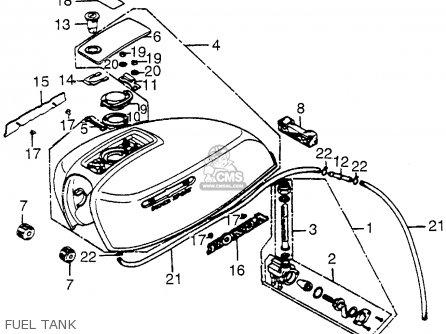 Honda CB550F SUPER SPORT 550 FOUR 1975 CB550FK0 USA parts