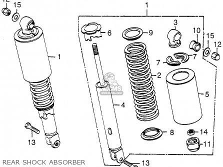 Honda CB550F SUPER SPORT 550 FOUR 1976 USA parts lists and