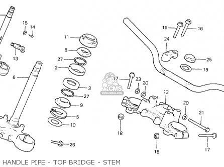 Honda Cb550f2 Super Sport 550 Four 1977 England parts list