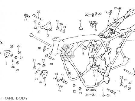 Honda CB550F2 SUPER SPORT 550 FOUR 1977 FRANCE parts lists