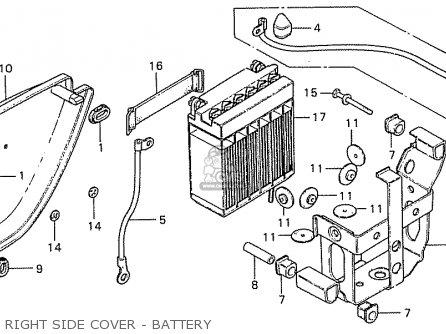 Honda CB550K3 FOUR AUSTRALIA parts lists and schematics