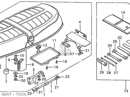 Honda CB550K3 FOUR FRANCE parts lists and schematics
