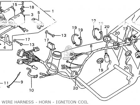 Honda CB550K3 FOUR FRANCE parts lists and schematics