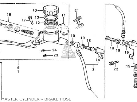 Honda CB550K3 FOUR GERMANY parts lists and schematics