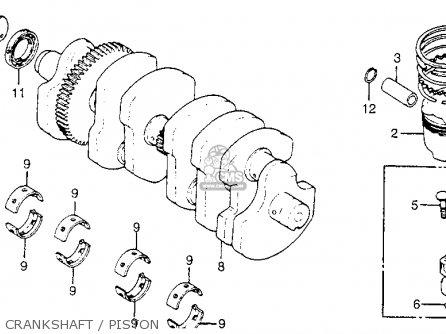 Honda CB550SC NIGHTHAWK 1983 (D) USA parts lists and