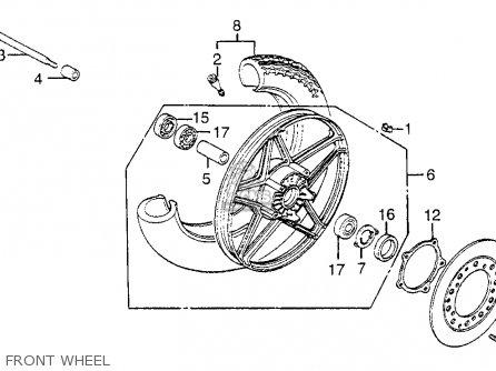 Honda Cb550sc Nighthawk 1983 (d) Usa parts list