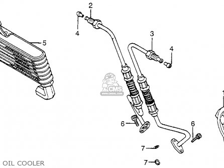 Honda Cb550sc Nighthawk 550 1983 Usa parts list