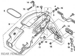 Honda CB600F 599 2006 (6) USA parts lists and schematics