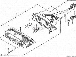 Honda CB600F HORNET 1998 (W) JAPAN PC34-100 parts lists