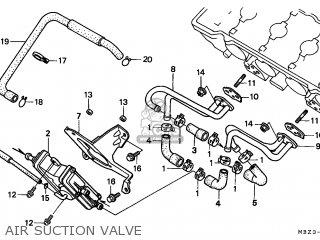 Honda Cb600f Hornet 1998 (w) Netherlands Kph parts list