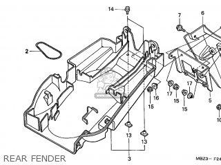 Honda CB600F HORNET 1998 (W) SWITZERLAND KPH parts lists