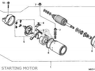 Honda CB600F HORNET 2001 (1) ENGLAND MKH parts lists and