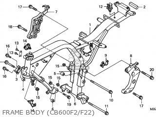 Honda CB600F HORNET 2002 (2) EUROPEAN DIRECT SALES KPH 34P